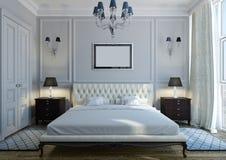 Klassisches Schlafzimmer Stockfotos