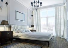 Klassisches Schlafzimmer Lizenzfreie Stockfotos