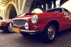 Klassisches schwedisches Auto Stockbilder