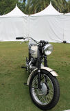 Klassisches sechziger Jahre Briten-Motorrad Stockfotografie
