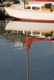 Klassisches Segelboot stockbilder