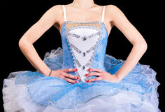 Klassisches Tanzkleid Stockfoto
