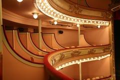 Klassisches Theater Stockfotografie