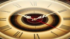Klassisches Ticken der Uhr-03 beschleunigt stock video footage