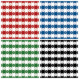 Klassisches Tischdecke-Muster Stockbild