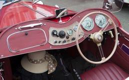 Klassisches Weinlese-Sport-Auto Stockbild