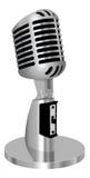 Klassisches Weinlesemikrofon   Lizenzfreies Stockfoto