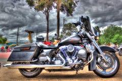 Klassisk amerikanHarley Davidson motorcykel arkivfoto