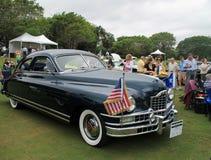 Klassisk amerikansk bil för främre sida Arkivbild