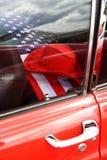 Klassisk amerikansk bil för tappning fotografering för bildbyråer