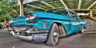 Klassisk amerikansk 50-tal Cadillac Royaltyfria Bilder