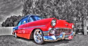 Klassisk amerikansk 50-tal Chevy Royaltyfri Foto