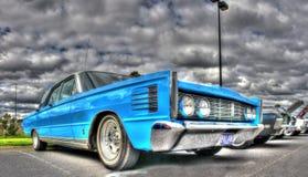 Klassisk amerikansk 60-tal Ford Mercury Arkivbild