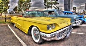 Klassisk amerikansk 60-tal Ford Thunderbird Arkivfoto