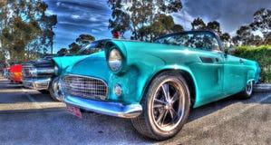 Klassisk amerikansk 50-tal Ford Thunderbird Royaltyfri Fotografi