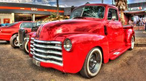 Klassisk amerikansk 40-talChevy pickup Arkivfoto