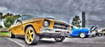 Klassisk australisk 70-tal Holden Monaro Arkivfoto