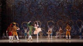 Klassisk balett som sover skönhet lager videofilmer