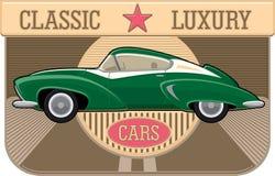 Klassisk bil Arkivbilder