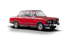 Klassisk bil BMW 2002 för sport Arkivbild