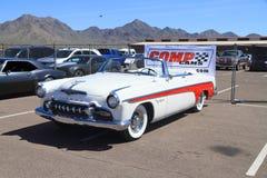 Klassisk bil: DeSoto Fireflite cabriolet 1955 Arkivbild