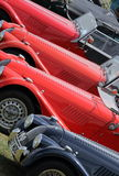 Klassisk bilshow, Silverstone Arkivbild