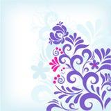 klassisk blom- soft för bakgrund Arkivfoto
