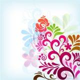 klassisk blom- soft för bakgrund Royaltyfri Bild