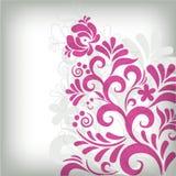 klassisk blom- soft för bakgrund Arkivfoton