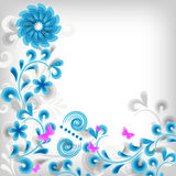 klassisk blom- soft för bakgrund Arkivbild