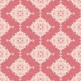 klassisk blom- wallpaper Arkivfoton