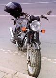 Klassisk bmw-moped Arkivfoton