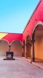 Klassisk borggårdarkitekturKroatien Arkivfoto