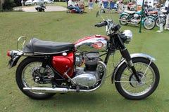 Klassisk brittisk vincent motorcykel royaltyfria foton