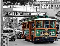 Klassisk buss Arkivbild