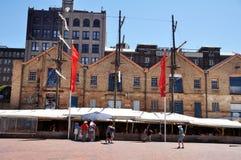 Klassisk byggnad i vaggar staden på Sydney Royaltyfri Foto