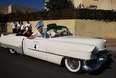 Klassisk cabrioletCadillac eldorado 1954 Arkivfoto