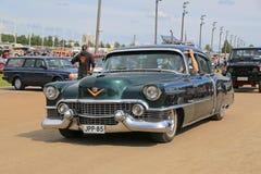 Klassisk Cadillac serie 62 i en show Arkivbilder