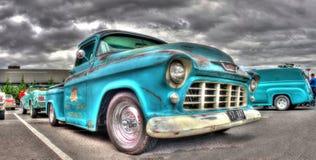 Klassisk Chevy för 50-talPepsi Cola pickup royaltyfri foto