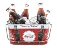 Klassisk cola Botte arkivfoton