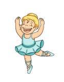 klassisk dans för barn Arkivbild