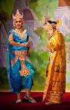 klassisk dans myanmar royaltyfria bilder