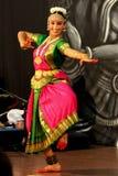 klassisk dansareindier Arkivbild