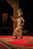 Klassisk danskapacitet för en khmer i Cambodja Royaltyfri Fotografi