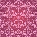 klassisk dekorativ seamless wallpaper Fotografering för Bildbyråer