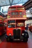 Klassisk dubbel däckare av London Fotografering för Bildbyråer