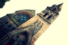 Klassisk Edinburgkyrka arkivbilder