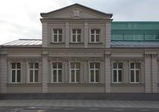 klassisk facade Arkivbild