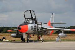 klassisk fighterjethawkerjägare Royaltyfri Foto