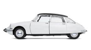 Klassisk fransk bil royaltyfria bilder